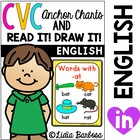 CVC Anchor Charts and Read it. Draw it. Printables