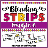 Magic E Blending Word Strips