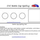 CVC Bottle Cap Spelling