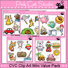 CVC Clip Art Mini Value Pack - Personal or Commercial Use