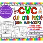 CVC Cut and Paste (with mini books)
