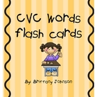 CVC Flash cards