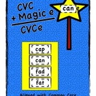 CVC + Magic e = CVCe (Aligned with Common Core)