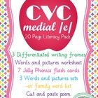 CVC Medial /e/ Literacy Pack