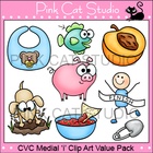 CVC Medial 'i' Clip Art Value Pack - Personal or Commercial Use