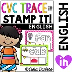 CVC Playdough Trace &amp; Stamp Mats