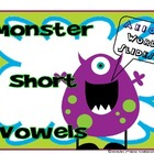 CVC Short Vowel Review Word Slides