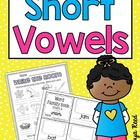 Short Vowels Word Work Activities Bundle