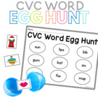 CVC Word Egg Hunt