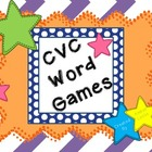 CVC Word Games