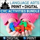 CVC Word Work Bundle