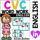 CVC Word Work Mats