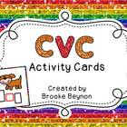 CVC Words Activity Cards