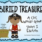 "CVC Words: ""Buried Treasure!"" Game - Short I Words Edition (CCSS)"