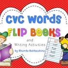 CVC Words Flip Books and Writing Activities