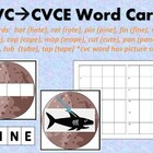 CVC to CVCE Word Practice Set 1