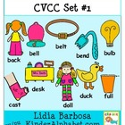 CVCC Mega Bundle Set- Clip Art for Teachers