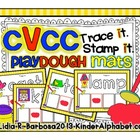CVCC Playdough Trace and Stamp Mats