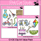 CVCE Clip Art Value Pack - Personal or Commercial Use