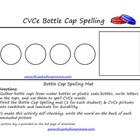 CVCe Bottle Cap Spelling