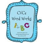 CVCe Word Works Center Activities!