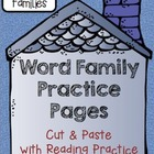 CVCe -ore Family: Word Family Cut, Paste & Read Practice