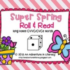 CVCe/CVVC Long Vowel Super Spring Roll &amp; Read