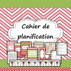 Planification pour la classe (French Back to school planner kit)