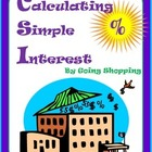Calculating Simple Interest by Going Shopping