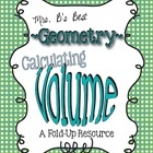 Calculating Volume Tri-Fold-Up