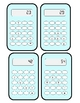 Calculator Puzzles - Addition and Subtraction easy