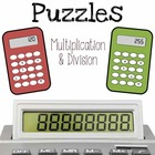 Calculator Puzzles - Multiplication and Division Challenge