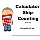 Calculator Skip-Counting: Level One