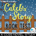 Caleb&#039;s Story: Book Test