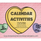 Calendar Activities