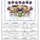 Calendar Cheerleading 2013 - English - Spanish