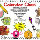 Calendar Clues: Number Sense Task Cards