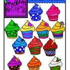 Calendar Cupcakes {Creative Clips Digital Clipart}