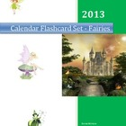 Calendar Flashcard Set - Fairies