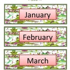 Calendar Flashcards Set - Months, Days, Numbers, etc. - Fr