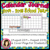 Calendar Journal {2013-2014 School Year}