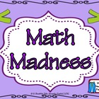 sailBTS Common Core Style Calendar Math Madness