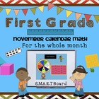 Calendar Math SMARTBoard for November Common Core - Attend