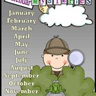 Calendar Mysteries Activity Packet