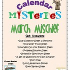 Calendar Mysteries March Mischief by Ron Roy