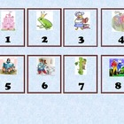 Calendar Numbers - Fairy Tales, Folktales