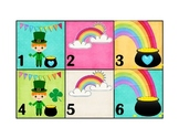 Calendar Patterns to Teach Math (March/St. Patrick's Theme)