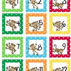 Calendar Set Monkey Theme