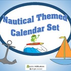 Calendar Set Nautical Theme