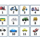 Calendar Set - Transportation --- Land